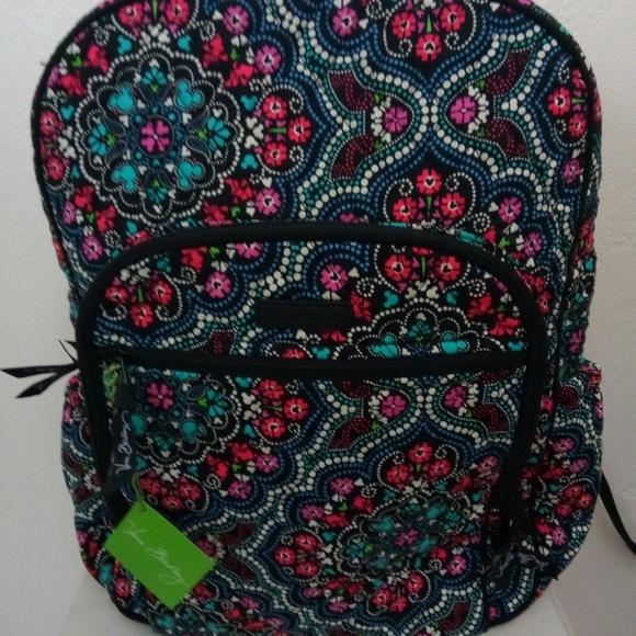 Vera Bradley Bags   Mickey Medallion Disney Backpack   Poshmark 4bc6c862e6